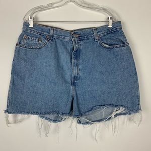 Levi's Shorts - Levis Vintage cut off jean shorts high rise